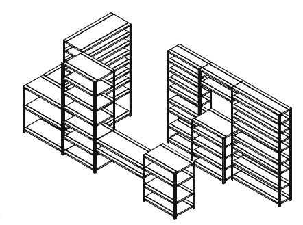 Regał modułowy